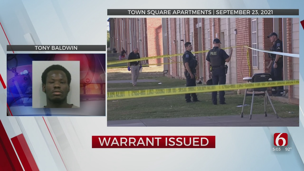 Warrant Issued For Tulsa Man Accused Of Murder At Town Square Apartments