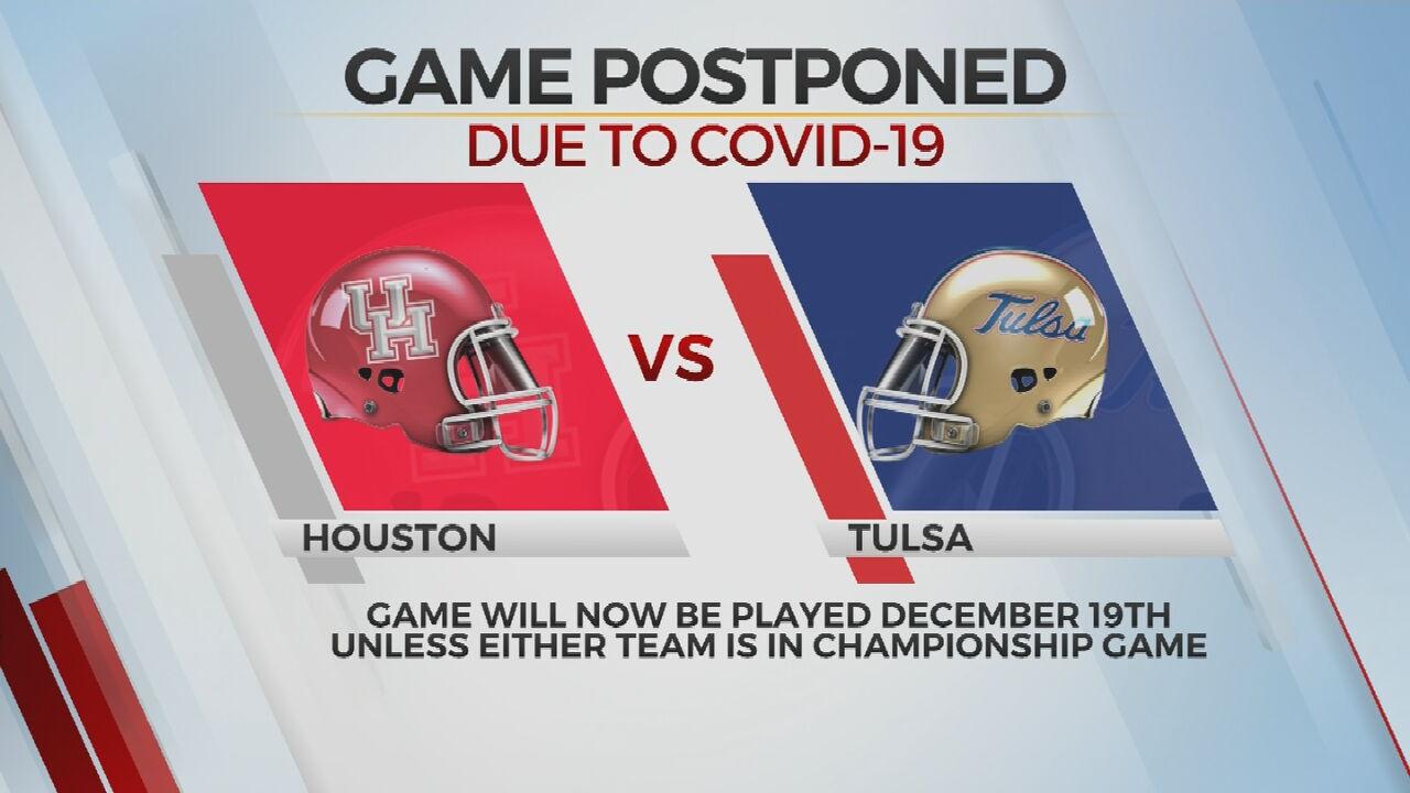 TU, Houston Game Postponed Due To COVID-19