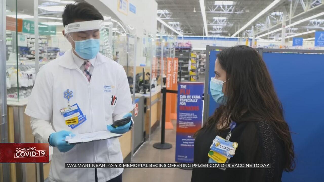 Tulsa Walmart To Begin Administering Pfizer COVID-19 Vaccine