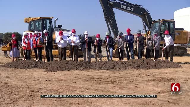 Claremore Public Schools Break Ground On New STEM Innovation Center