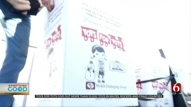 Nearly 3,000 Northeastern Oklahoma Kids To Receive Gifts From Toys for Tots