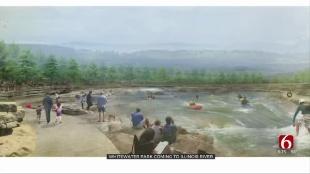 GRDA Helps Bring Whitewater Park Experience To Illinois River