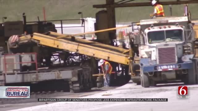 Bipartisan Group Of Senators Propose Less Expensive Infrastructure Plan