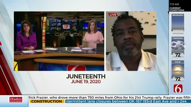 WATCH: OSU-Tulsa Professor Discusses Significance of Juneteenth