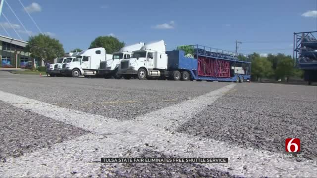 Tulsa State Fair Drops Free Shuttle Service This Year