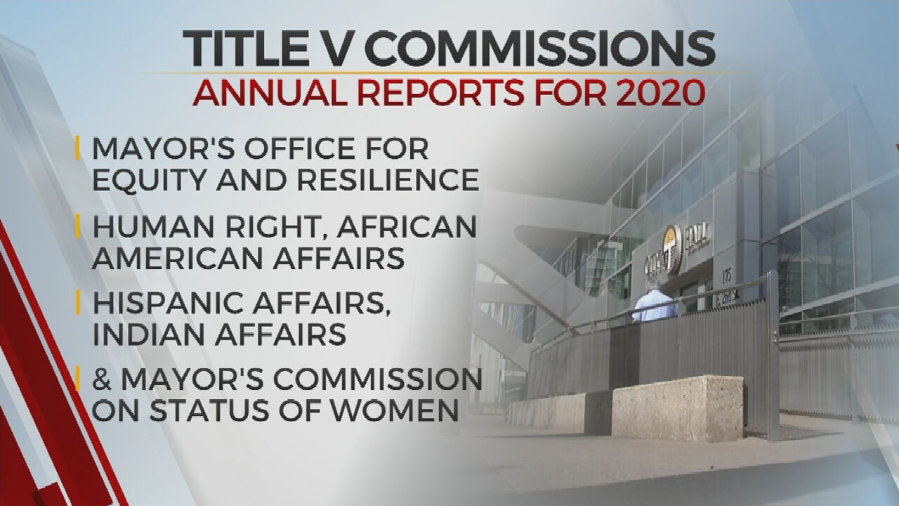 Tulsa's Title 5 Commissions Release Annual Reports For 2020
