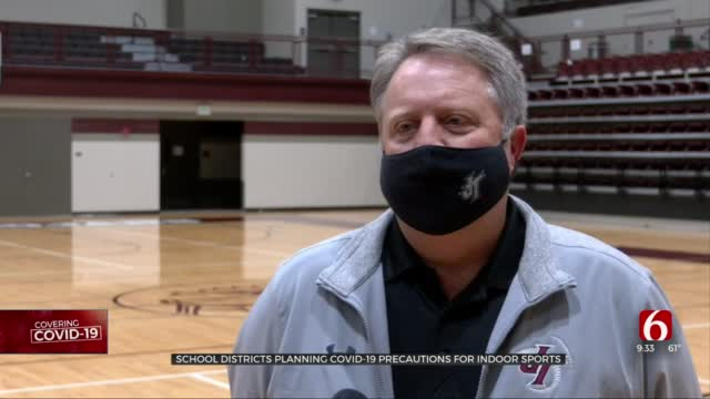 School Districts Share Plans For COVID-19 Precautions For Indoor Sports