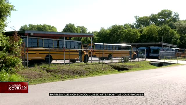 Bartlesville High School Closed For Cleaning After Several People Test Positive For COVID-19
