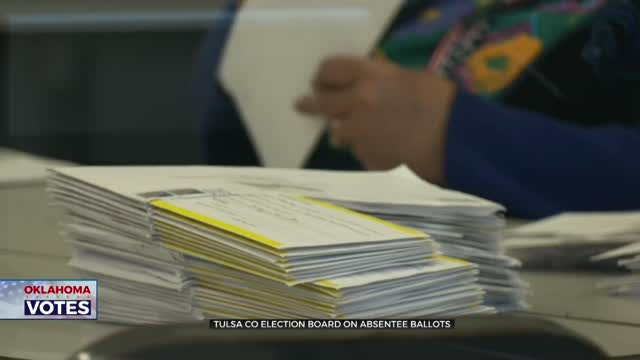 Tulsa Co Election Board Offers Advice For Absentee Ballot Voting
