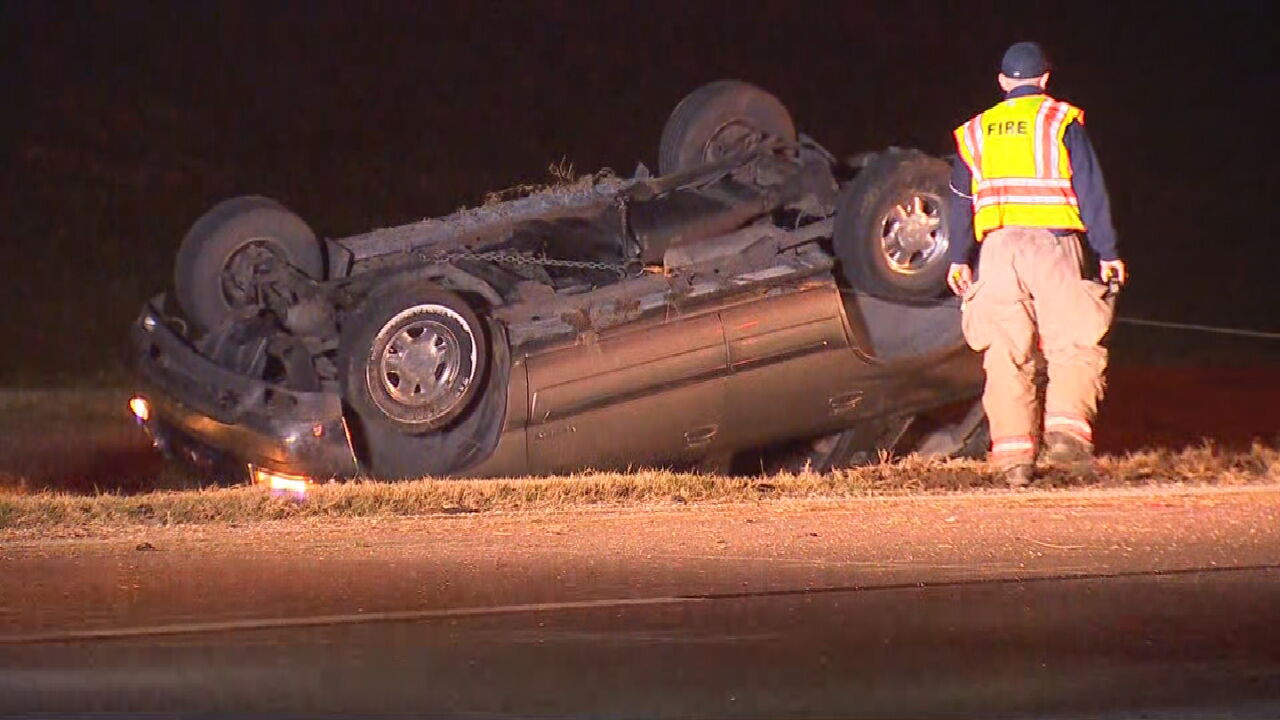 Man In Custody After Rollover Accident On Highway 412