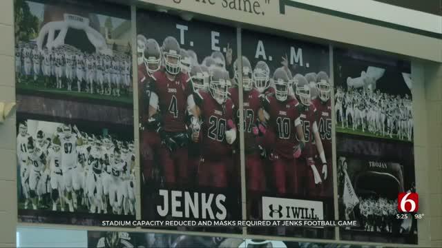 High School Football Returns With Masks, Reduced Stadium Capacity