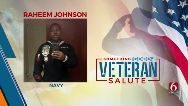 Veteran Salute: Raheem Johnson