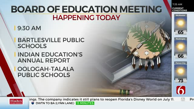 Oklahoma State Board Of Education Holds Virtual Meeting