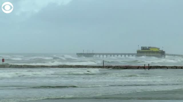 Watch: Galveston Braces For Hurricane Laura
