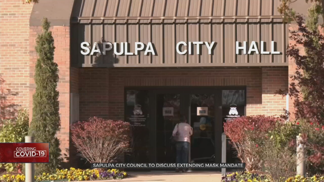 Sapulpa Mask Mandate Expires Monday; City Council Could Vote to Extend It