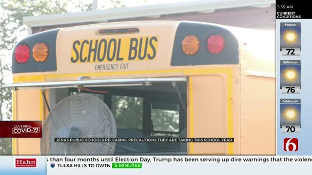 Jenks Public Schools Release Bus Plan For Upcoming School Year