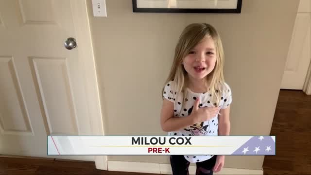 Daily Pledge: Milou Cox