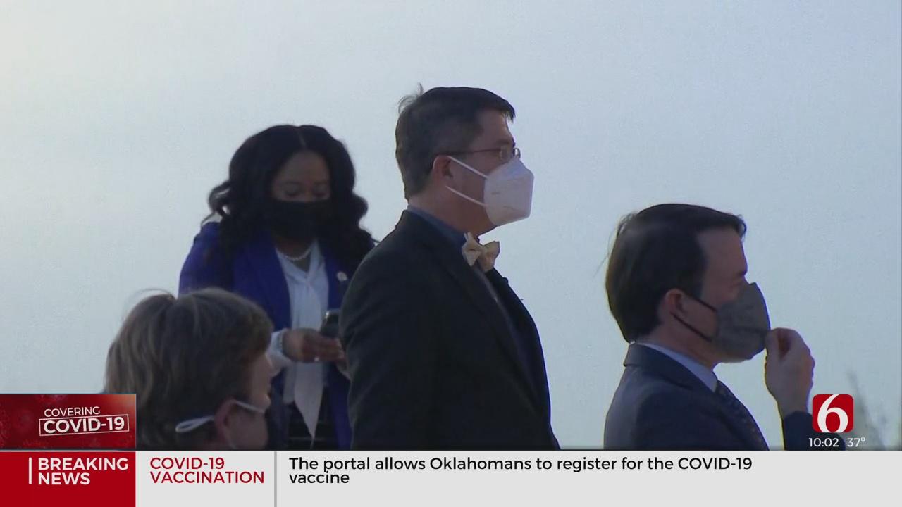 Oklahoma House Democrats Hold Memorial For COVID-19 Victims