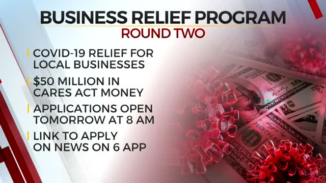 Phase Two Of Oklahoma's Business Relief Program Opens Applications Tuesday