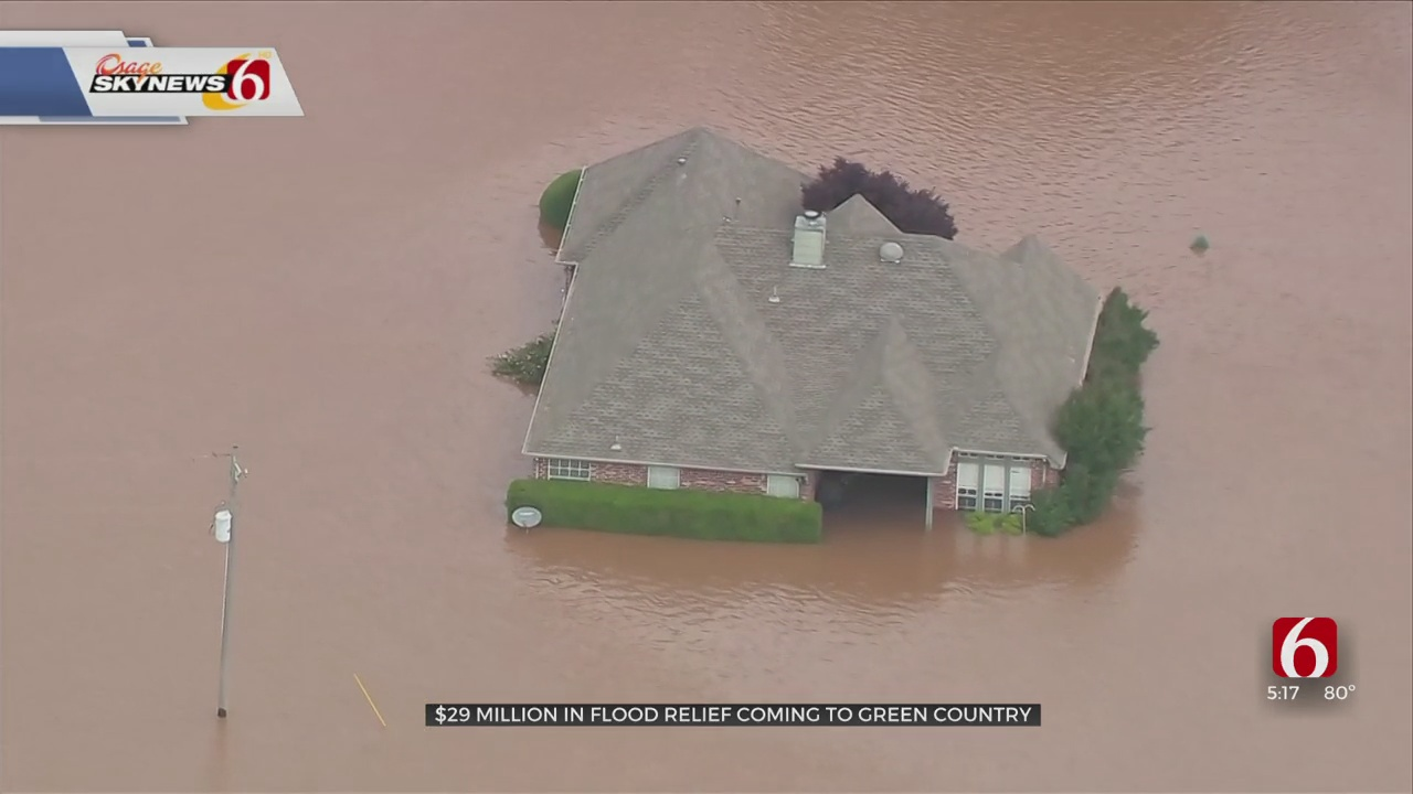 3 Green Country Counties To Receive Nearly $30M In Flood Relief