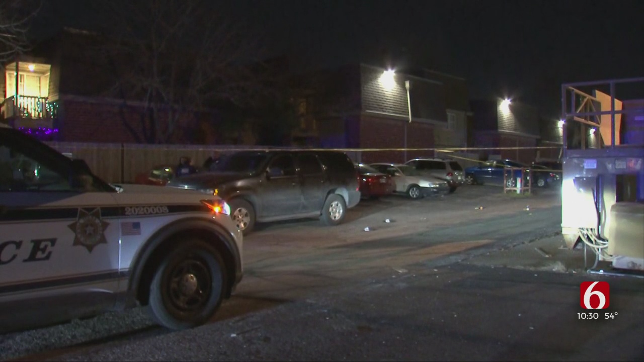 Gunfight Leaves One Injured At Tulsa Apartment Complex, Police Say