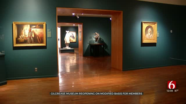 Gilcrease Museum Reopens To Members, Reopening To General Public Next Week