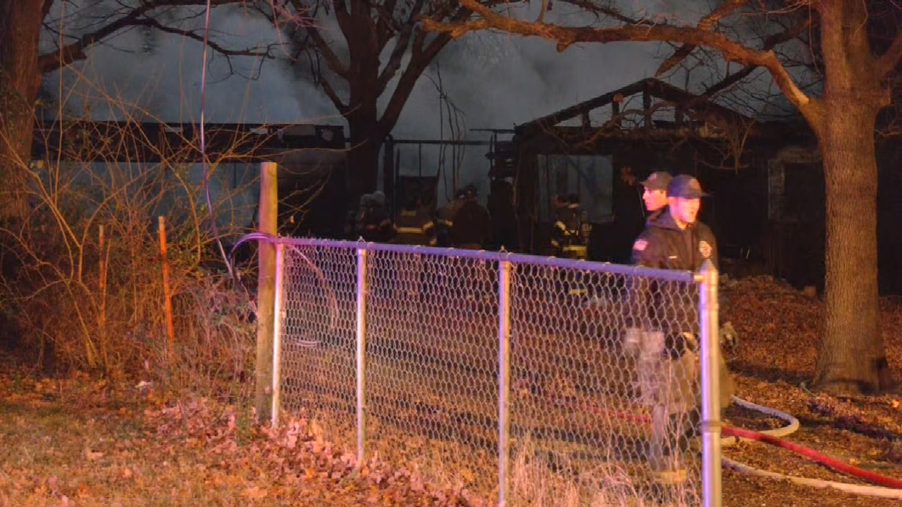 Firefighters Report No Injuries In Creek County House Fire