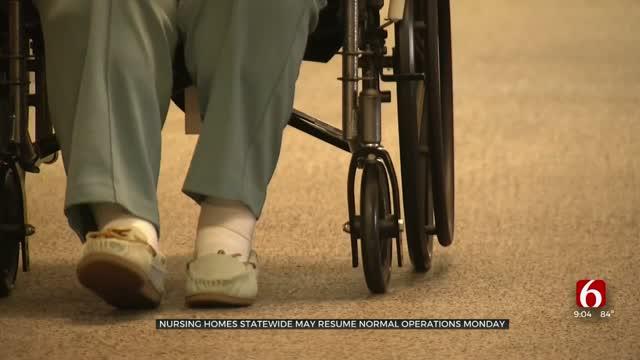 Some Oklahoma Nursing Homes To Resume Visitation Soon