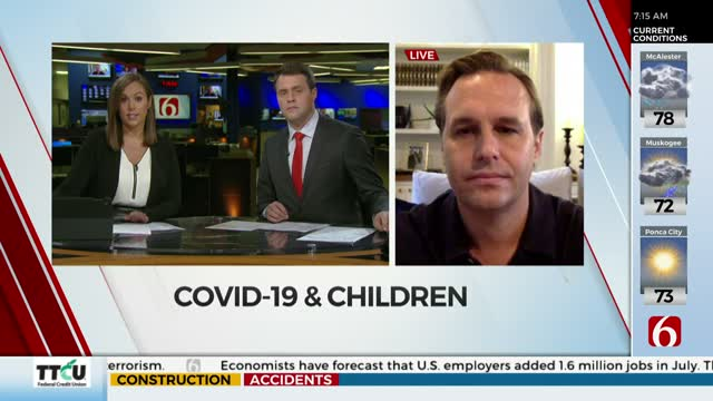 WATCH: COVID-19's Potential Impact On Children