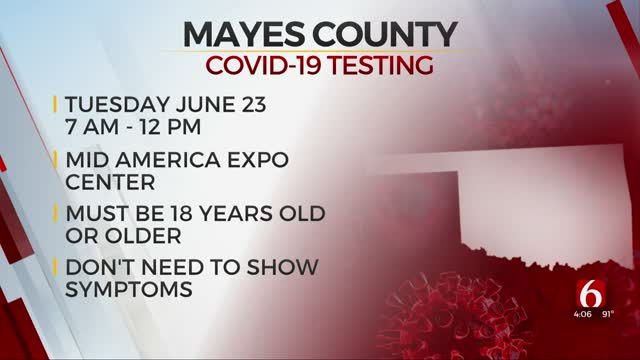 Mayes County Health Department Offers Drive-Thru COVID-19 Testing