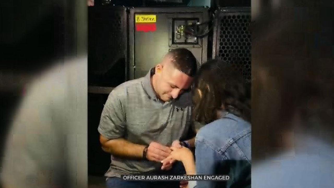 TPD Officer Gets Engaged At Blake Shelton Concert