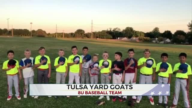 Daily Pledge: Tulsa Yard Goats 8U Baseball Team