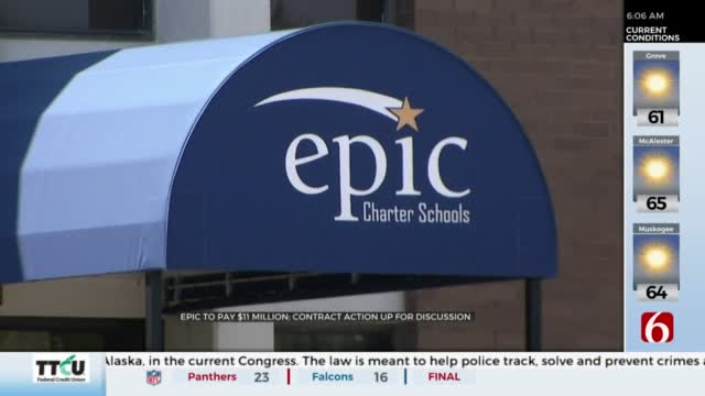 Oklahoma Charter School Board Meeting To Discuss Epic's Contract Tuesday