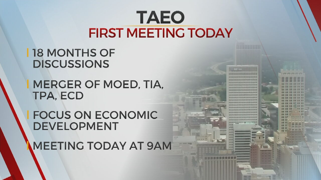 Tulsa Authority For Economic Opportunity To Hold First Meeting