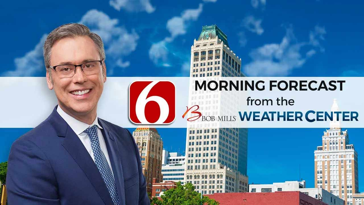 Saturday Morning Forecast With Alan Crone