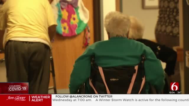 Oklahoma Nursing Homes Struggle To Fill Staff Amid COVID-19 Surge