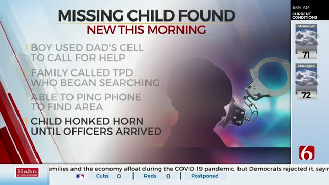 6-Year-Old Left In Car, Found By Police After Calling Family