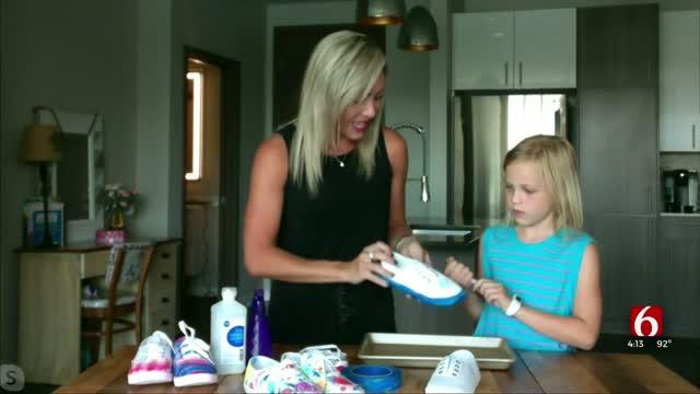 DIY Sharpie Tie Dye Shoes