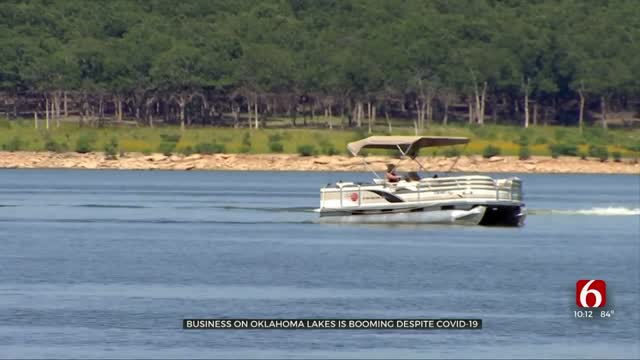 Businesses On Oklahoma Lakes Booming Despite Pandemic