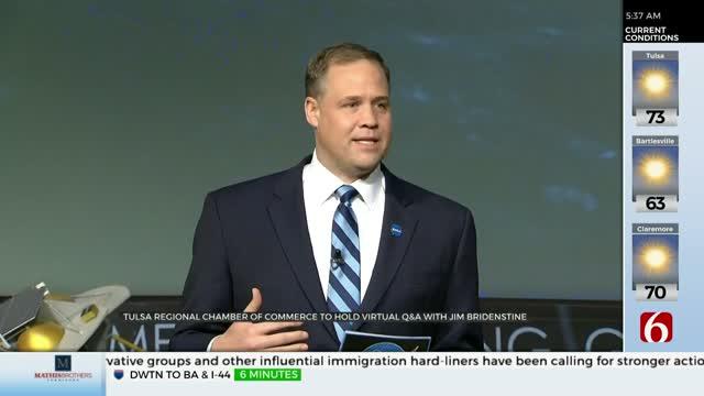 Tulsa Regional Chamber Of Commerce Hosting Virtual Discussion With NASA Administrator Jim Bridenstine