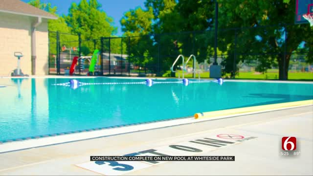 Construction Complete On New Pool At Whiteside Park