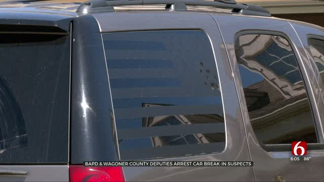 BAPD, Wagoner County Deputies Arrest Car Break-In Suspects