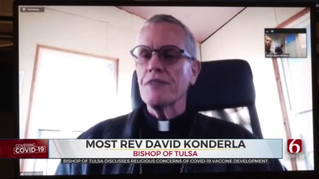 Bishop Of Diocese Of Tulsa And Eastern Oklahoma Addresses Vaccine Concerns