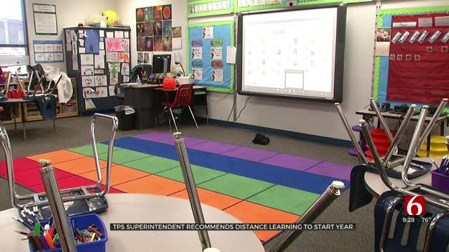 TPS Superintendent Recommends Distance Learning To Start, Board To Vote Monday