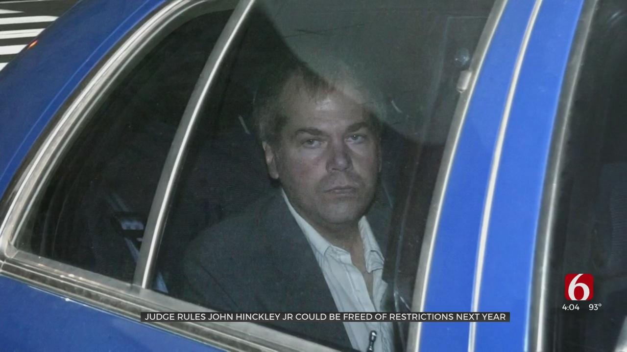 John Hinckley, Who Shot Reagan, To Be Freed From Oversight