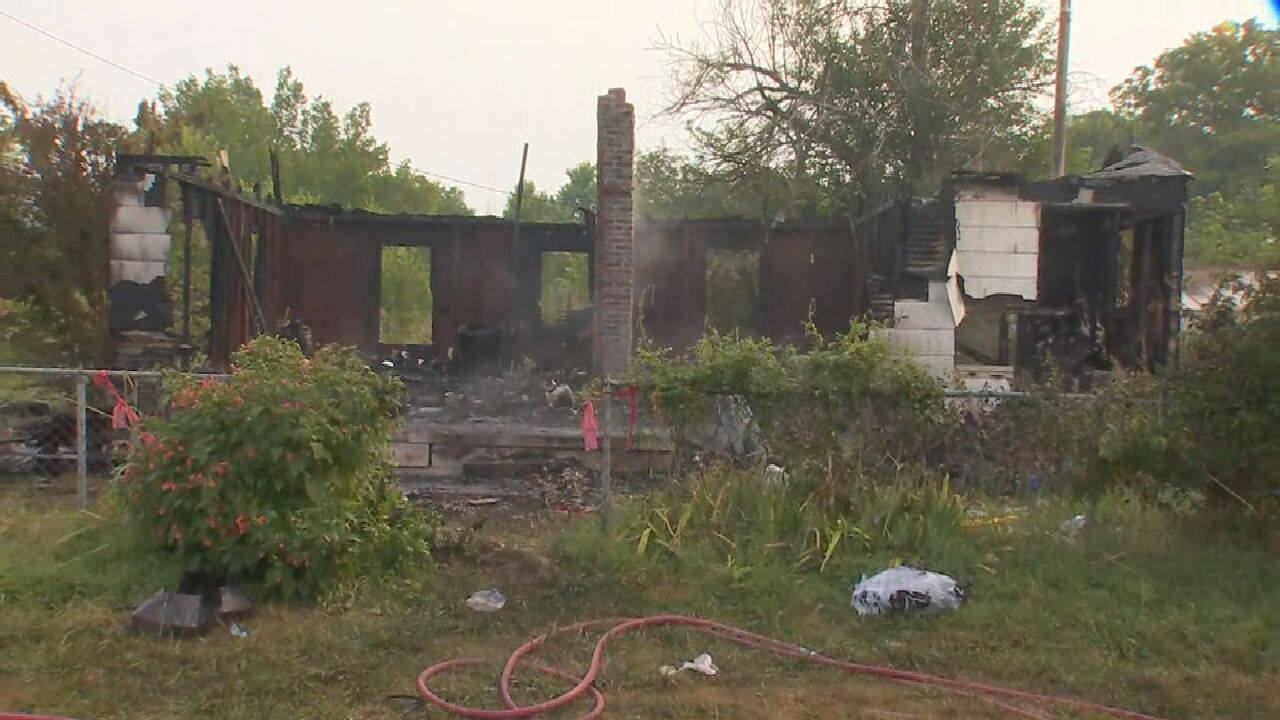 Firefighters Respond To Turley House Fire
