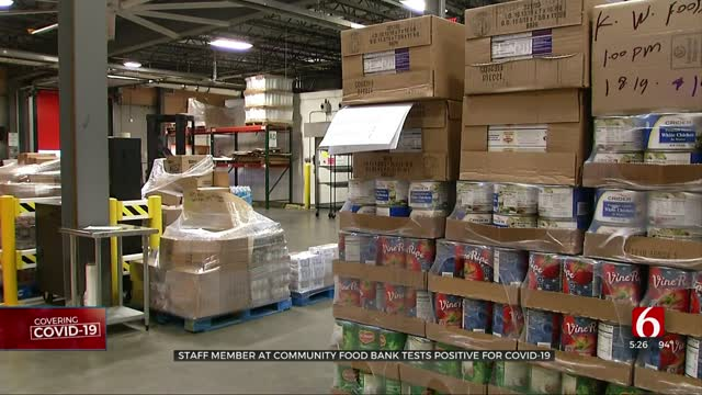 The Community Food Bank Of Eastern Oklahoma Closes Temporarily After Staff Member Tests Positive For COVID-19
