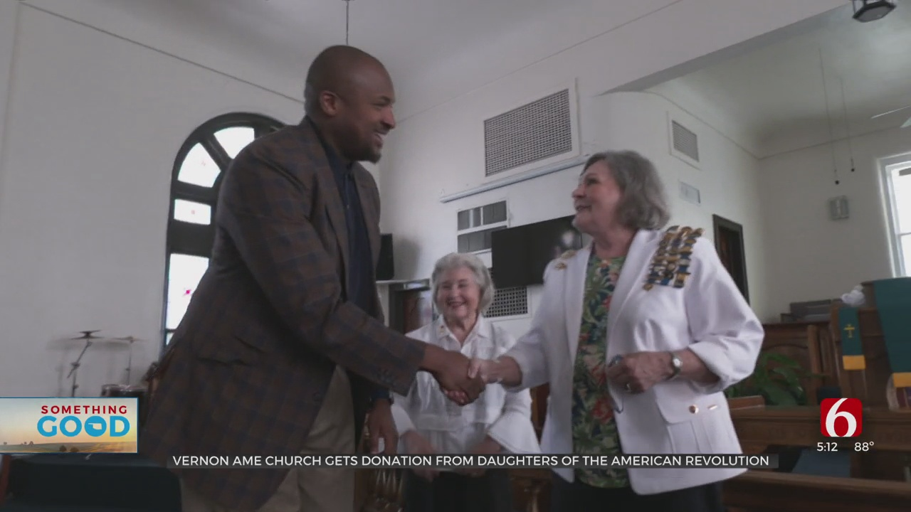 Daughters Of The American Revolution Donate $20,000 To Vernon AME For Special Renovations