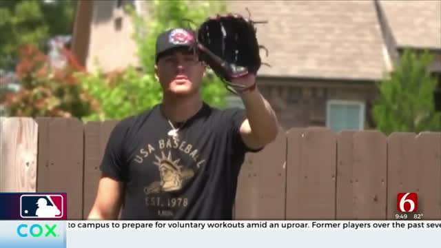 OU's Cade Cavalli Hoping To Be Drafted Into MLB