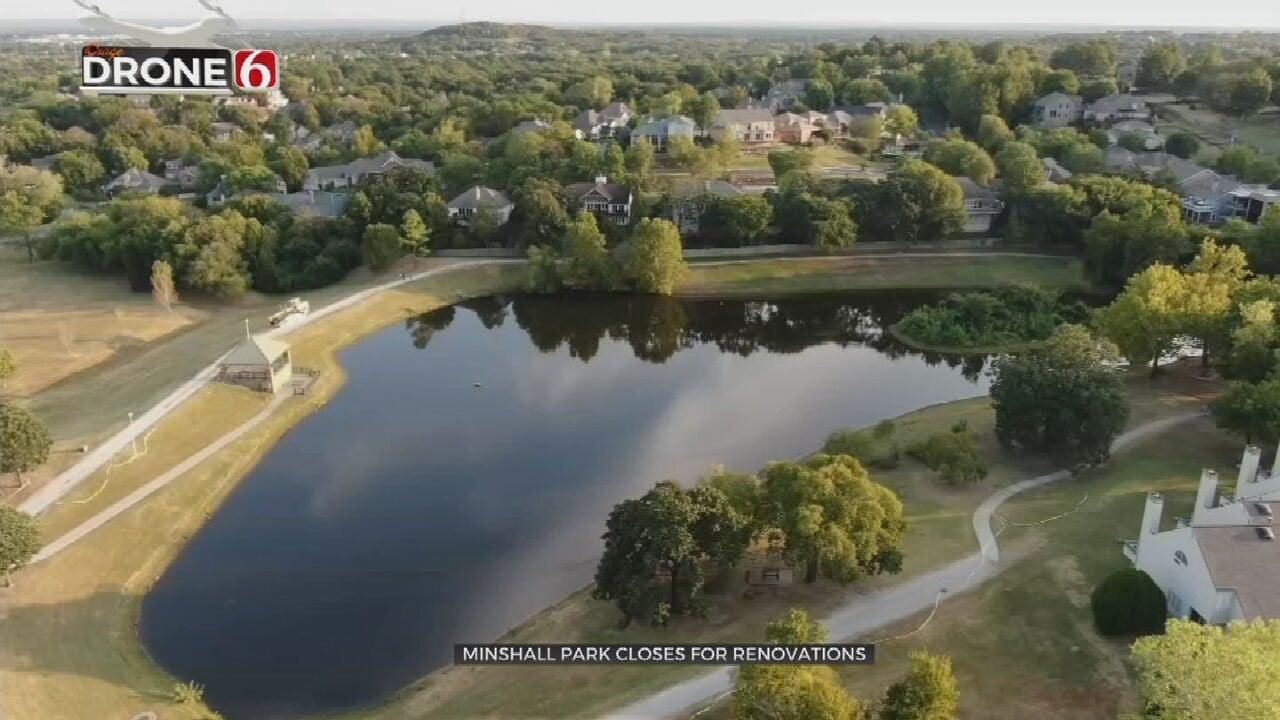 Minshall Park In Tulsa Closes For Big Remodel